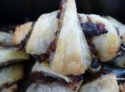 Croissants Aubergines Grillées