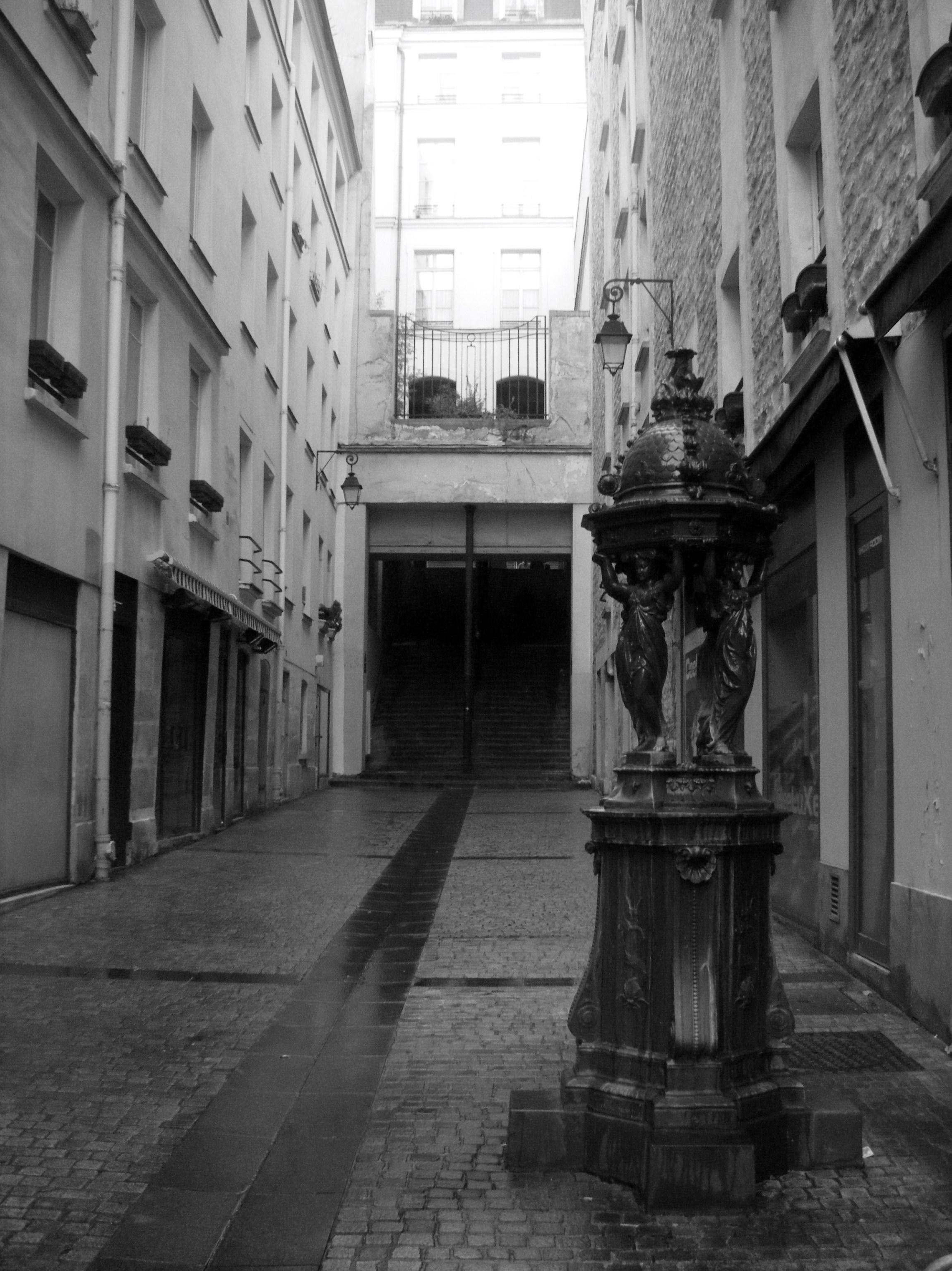 escaliers des rues de paris passage du pont aux biches paperblog. Black Bedroom Furniture Sets. Home Design Ideas