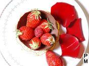 Coupe Chocolat Fraises rouge passion