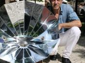 Énergie solaire invention d'un four portable
