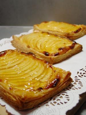 Tartelettes aux Pommes à la Crème