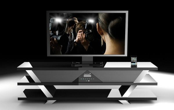 soundvision sv 1600 un meuble home cinema 2 1 paperblog. Black Bedroom Furniture Sets. Home Design Ideas