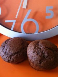 Muffins Cacao et Amandes