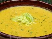 Potage céleri, carottes provolone