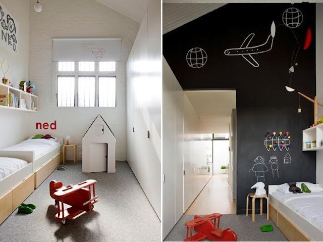 2 enfants 1 chambre voir. Black Bedroom Furniture Sets. Home Design Ideas