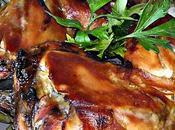 Cuisses poulet roti sauce soja