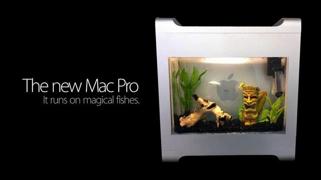 Comment transformer votre Mac G5 en aquarium...