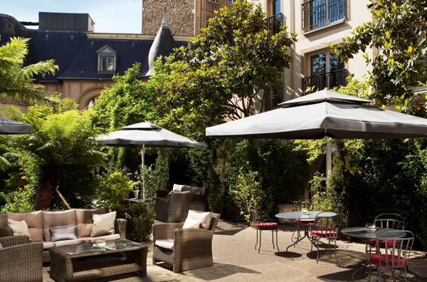 Jardin secret paris le luxe paperblog for Hotel le secret