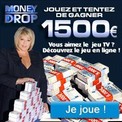 concours jeu money drop en ligne gagnez 1500 euros ou une voiture lire. Black Bedroom Furniture Sets. Home Design Ideas