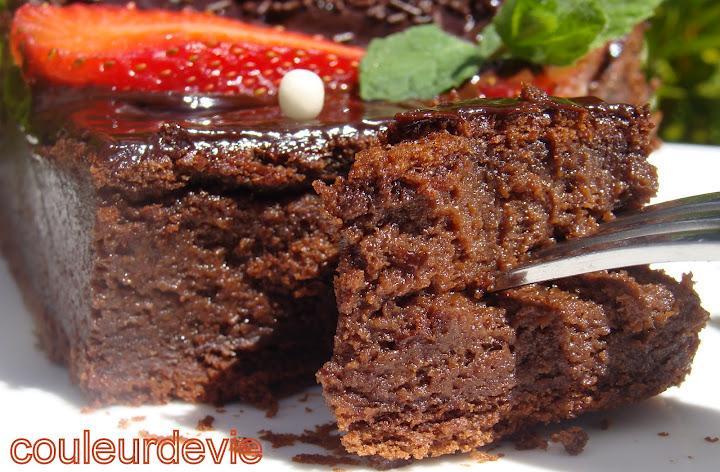 Gâteau au chocolat extra (au thermomix)
