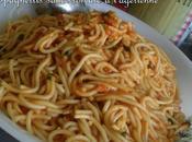 Spaghettis sauce tomate façon belle maman