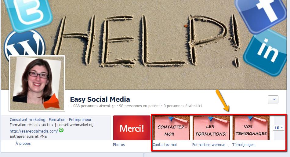 applications facebook1 Page Facebook dentreprise: faut il créer une page pro ou conserver votre profil?
