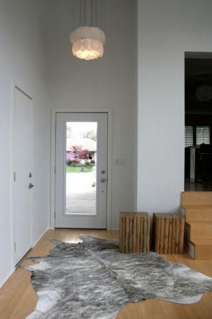 une belle maison moderne en noir et blanc lire. Black Bedroom Furniture Sets. Home Design Ideas
