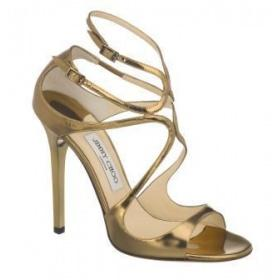 Sandales à talons JIMMY CHOO Lance Bronze