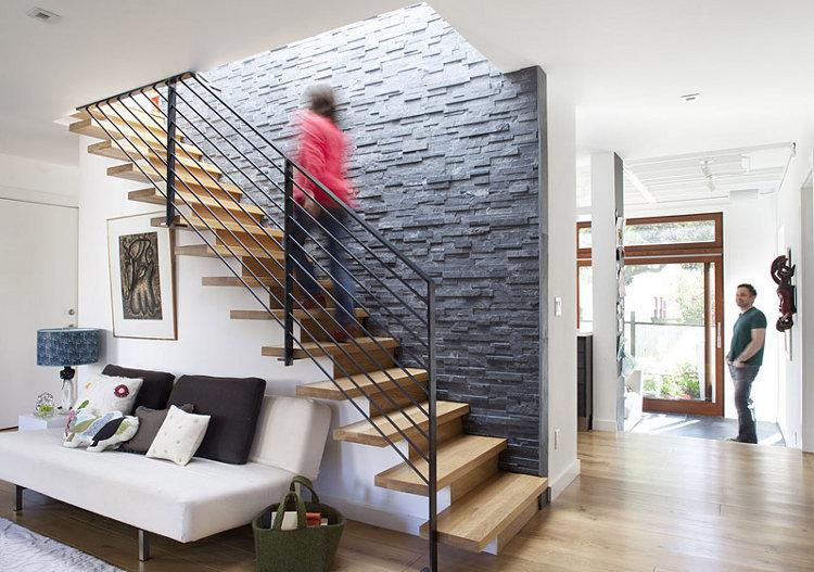 5 id es d co pour amm nager sa cage d escalier paperblog - Idee deco mur escalier ...
