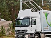 camions lourds pantographe