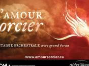 L'Amour Sorcier l'ECM+ Apassionata fantaisie orchestrale avec grand écran inspirée amor brujo Manuel Falla