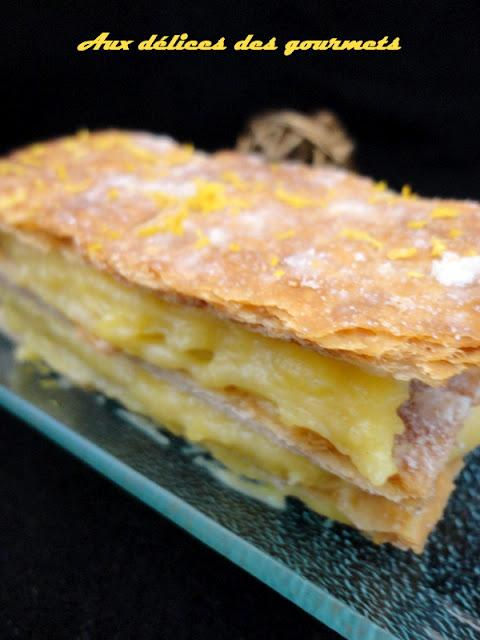 MILLE FEUILLE JAUNE CITRON