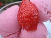 Glace fraise maison