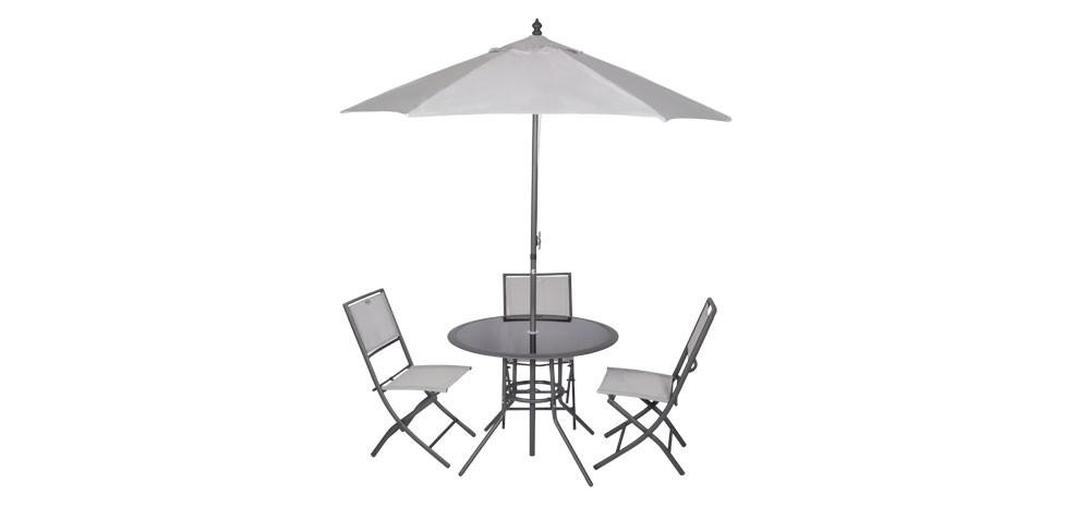 Id es d co pour terrasses et balcons paperblog for Salon de jardin avec parasol