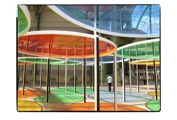 Kaléidoscopique trip avec Daniel Buren au Grand Palais