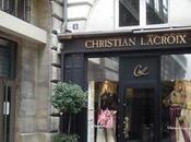 L'actualité luxe réouverture boutique Christian Lacroix, Place Saint Sulpice