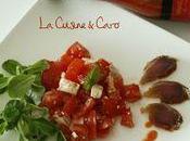 Salade tomates filet mignon séché... piment d'Espelette