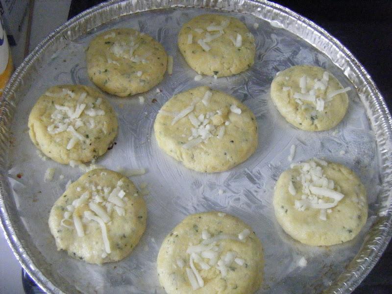 Croquettes à la semoule et au fromage