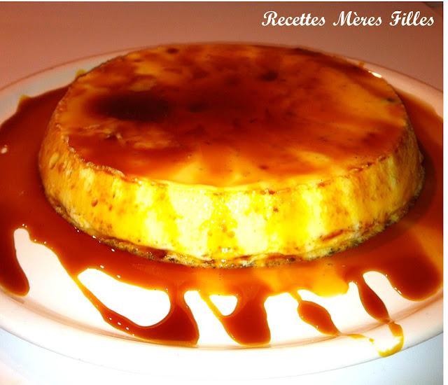 La recette Vanille : Flan minute vanille