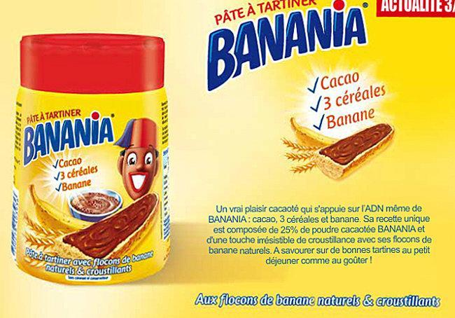 du nouveau avec banania la p 226 te a tartiner aux flocons de banane croustillants 192 d 233 couvrir
