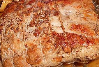 R ti de porc en cocotte minute paperblog - Cuisiner rouelle de porc en cocotte minute ...