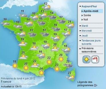 Changement climatique : Météo-France met à jour ses normales saisonnières
