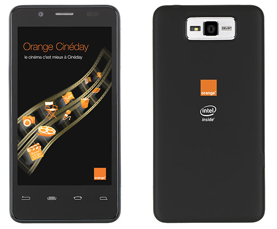 110098 orange santa clara Le smartphone Orange avec Intel inside disponible en juin (MAJ)