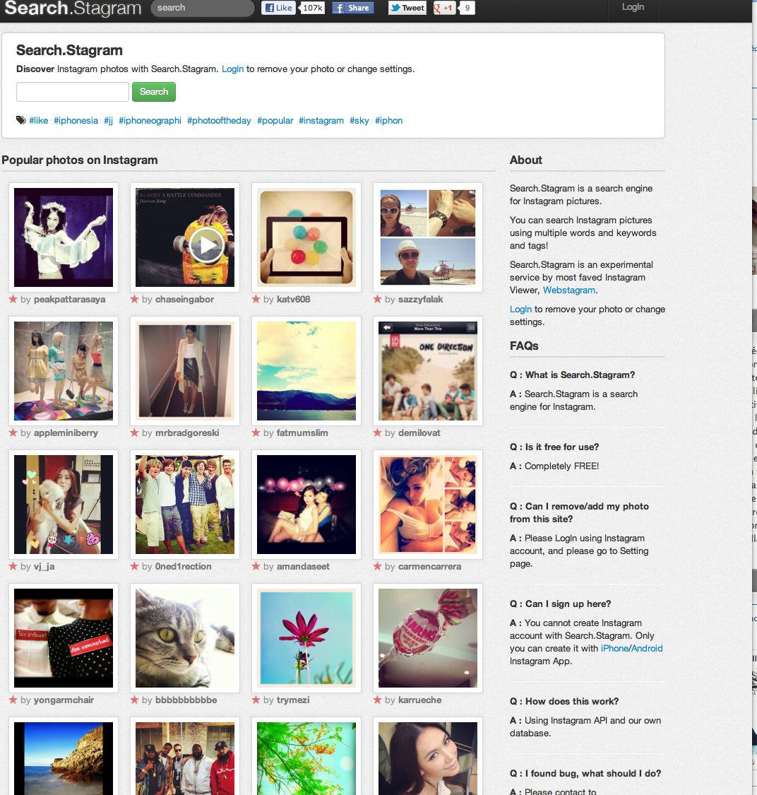 Screeny Shot 5 juin 2012 10.05.241 Search Stragram: le moteur de recherche Instagram