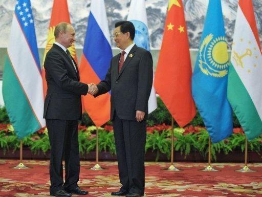 Vladimir Poutine en Chine