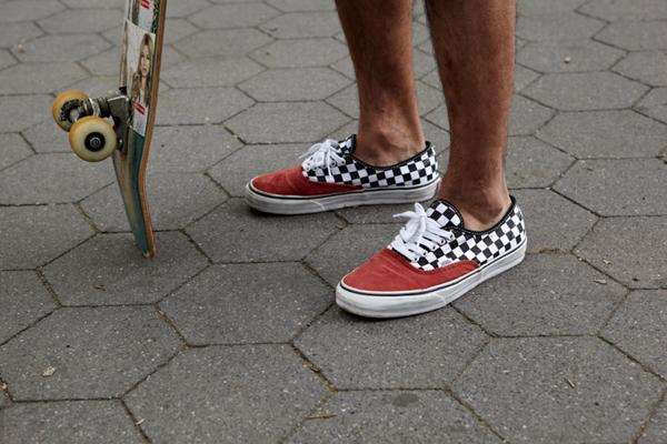 vans authentic carreaux