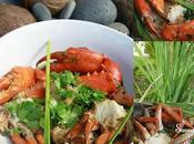 Crabe Cassé Citronnelle, Gingembre Coriandre