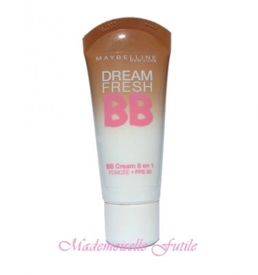dream fresh bb cream gemey maybelline le test d couvrir. Black Bedroom Furniture Sets. Home Design Ideas