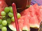Punch vert fruits