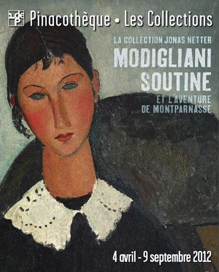 Modigliani Soutine à la Pinacothèque