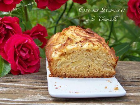 Cake aux Pommes et à la cannelle 2