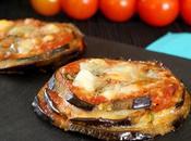 Aubergines façon parmigiana mozzarella, parmesan, coulis tomates basilic