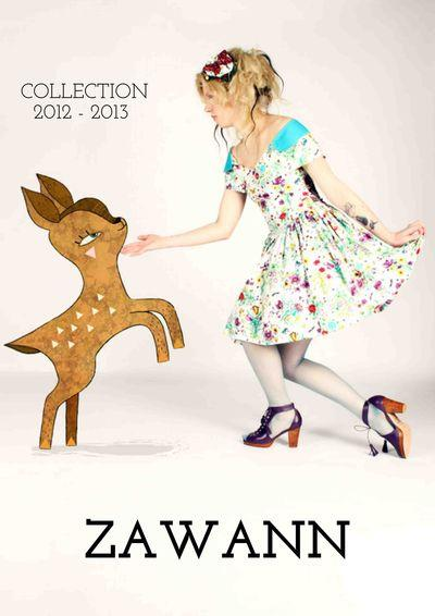 Zawann : le magazine catalogue de collection d'une créatrice de mode