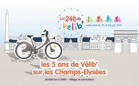 24h de Vélib' : un challenge solidaire