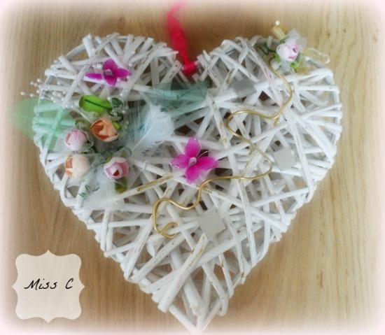 Coeur en osier scrapp paperblog - Coeur en osier ...