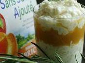 lait aérien romarin Compote pomme abricot