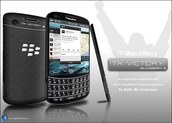 Un concept de BlackBerry sous OS10