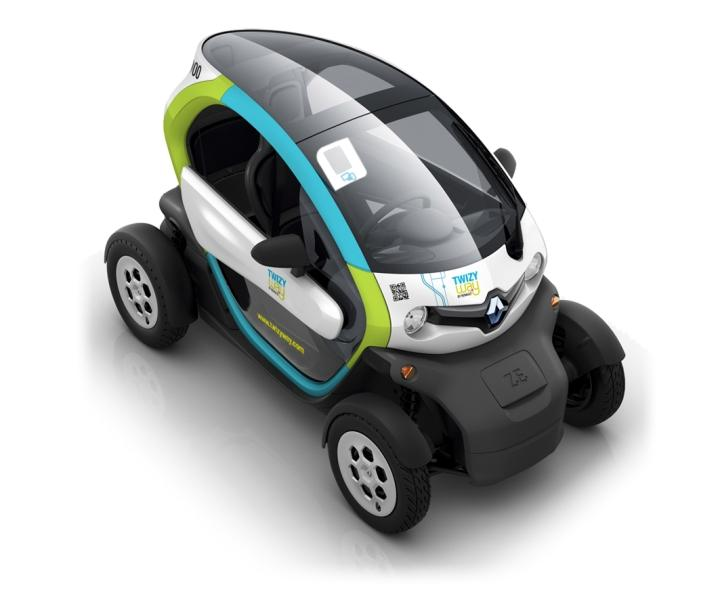 renaud lance son service de voiture en libre service twizy way voir. Black Bedroom Furniture Sets. Home Design Ideas
