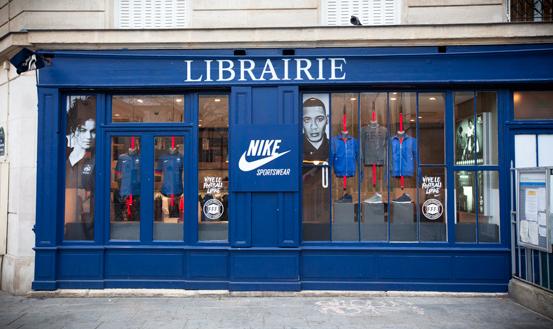 boutique nike marais