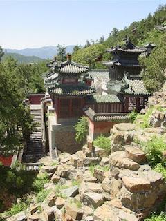 palais d 39 t jardin imp rial de beijing chine voir